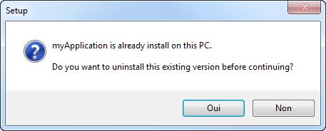 AGS InnoSetup check already install