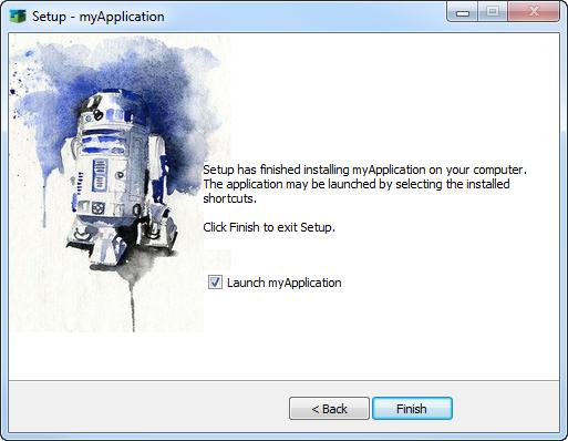 AGS InnoSetup licence Windows icons start menu